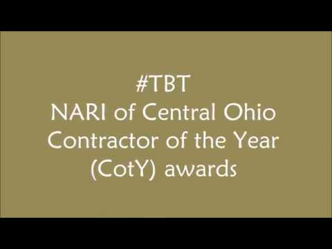 NARI of Central Ohio Contractor of the Year awards- The Cleary Company 2007 2016