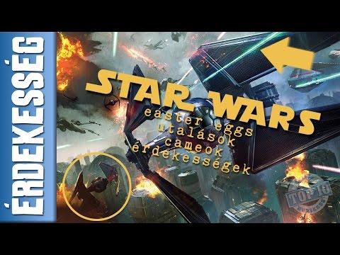 Star Wars rejtett üzenetek / utalások / cameo / easter eggs videó letöltése