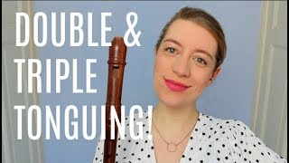 Learn double and triple tonguing! | Team Recorder