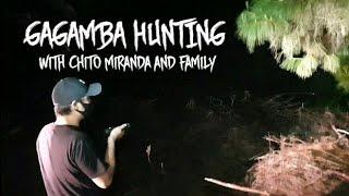 Gagamba Hunting at Night with Chito Miranda | Hanap at Huli ng Spiders Kasama ni Neri at Miggy