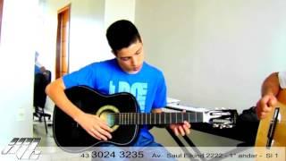 Aula de violão IMMC-MUSIC (Aluno gustavo)