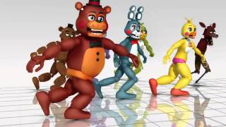 Bailando con five night at freddy's