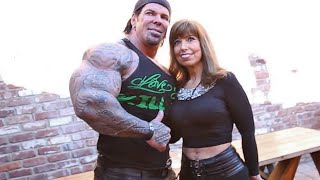RICH PIANA WITH HIS MOM AT THE BODY & POWER REUNION - THE FIRST GYM I EVER JOINED- BILL CAMBRA