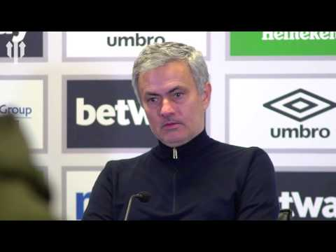 Jose Mourinho: 'The Kid is Important!' West Ham 0-2 Manchester United FULL PRESS CONFERENCE