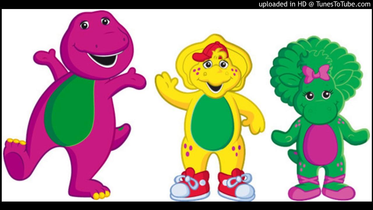 and friends fucking cartoon Barney his