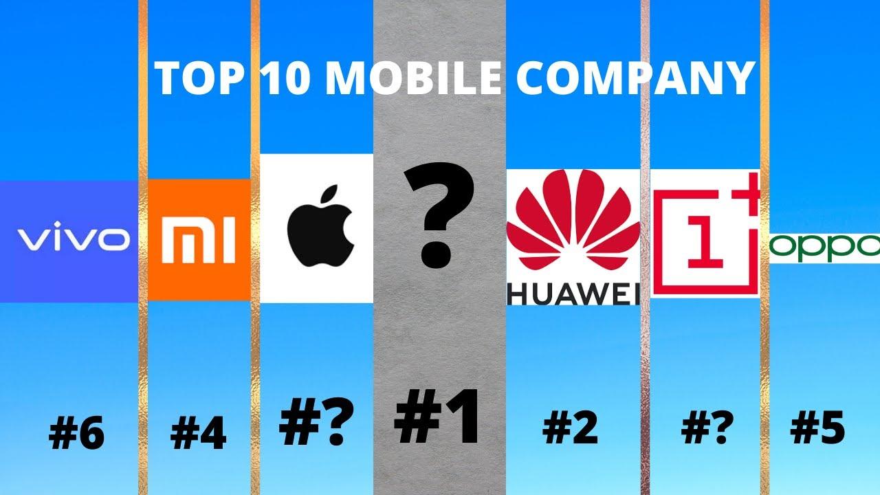 Top 10 Mobile Companies in 2020-21 (Hindi)