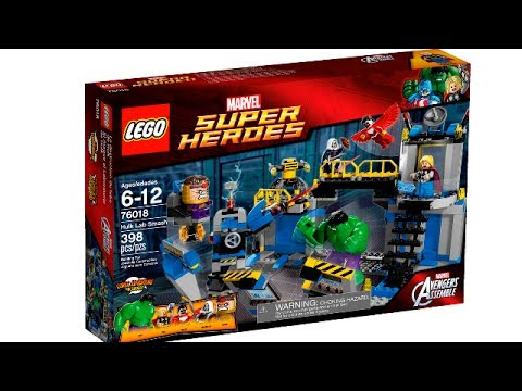 LEGO Marvel Super Heroes Spring 2014 sets pictures in HD! - YouTube