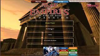 Game AOE- livestream đi quân thần thánh I monty