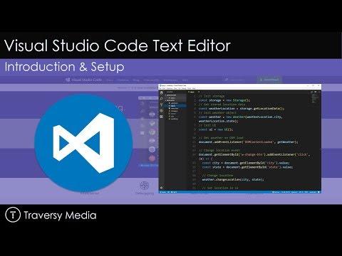 Visual Studio Code Intro & Setup