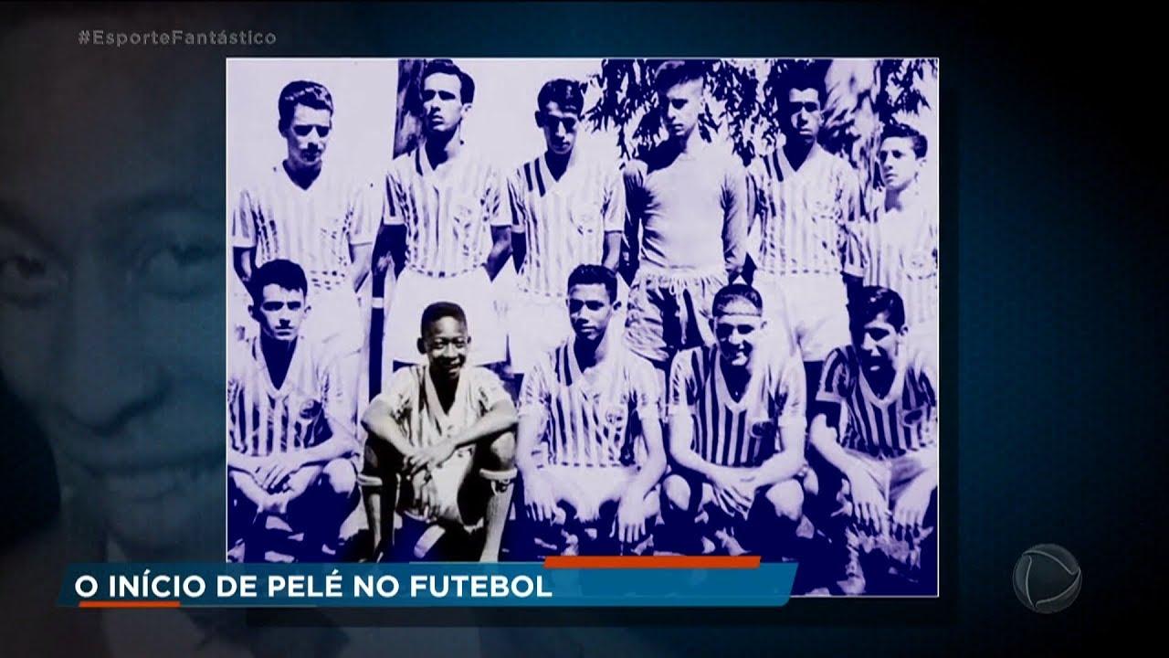 Conheça a infância do rei do futebol na série