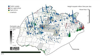 Study Products USGS Ozark Plateaus Groundwater Availability Study - Ozark plateau on us map