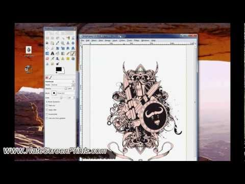 Part 6 - EASIEST & CHEAPEST Color Separation for Screen Printing Gimp