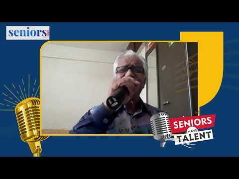 Abraham Thomas Performing at Seniors Have Talent | Season Two Finale | Online Singing Contest