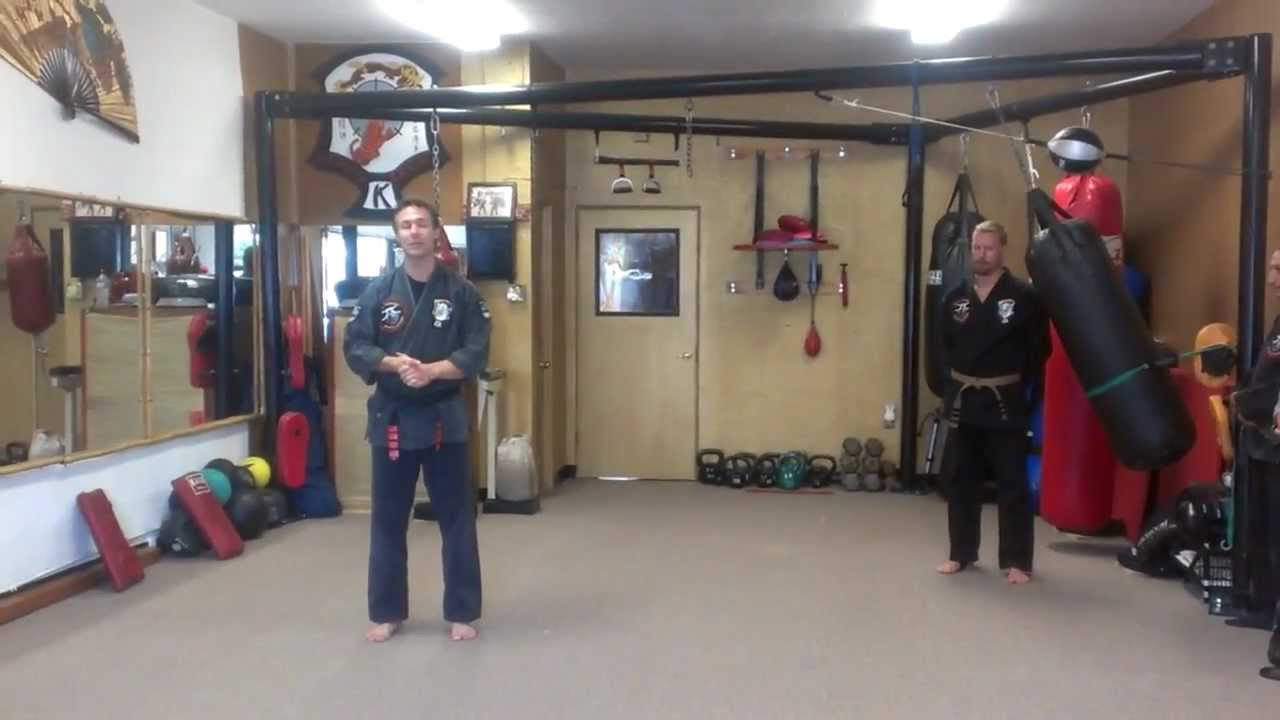 Kenpo Karate Stick Form - James Faasse, 4th Degree Black ...
