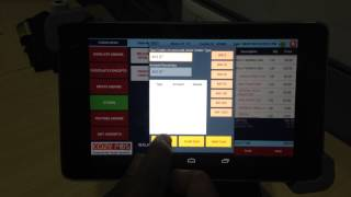 """Restaurant management software cozy pos (www.cozypos.com) integrated with ipos 2"""" bluetooth printer and tablet holder. sold as bundled unit c..."""
