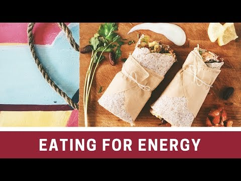 Reclaim Your Energy-Eating for Energy