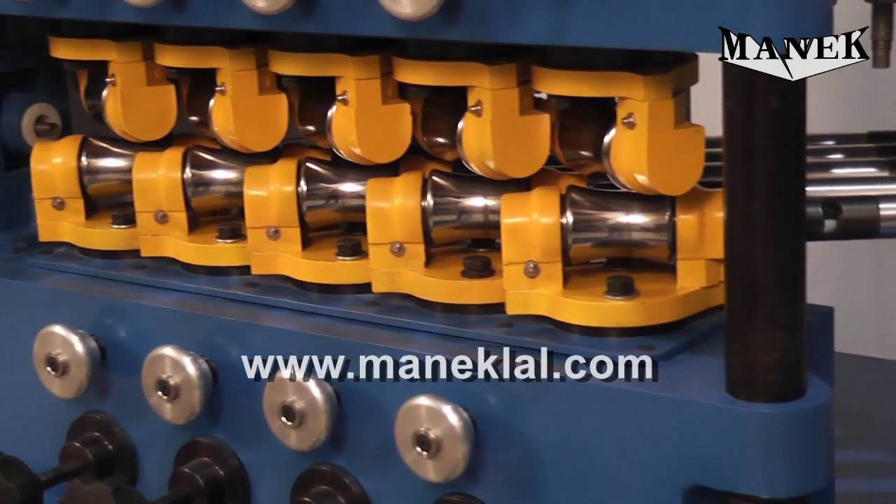 Manek - Tube Straightening Machine - Model: SE-15 with optional Counters  for Up and Down Movement