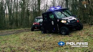 Off-Road Mobility with Polaris® Law Enforcement Equipment | Polaris Government & Defense