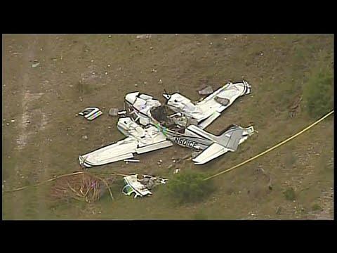 شاهد.. مقتل 6 أشخاص إثر تحطم طائرة صغيرة في تكساس  - نشر قبل 2 ساعة