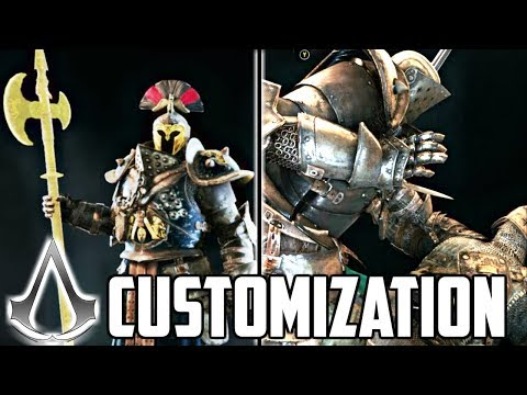 FOR HONOR X ASSASSIN'S CREED CROSSOVER EVENT! ALL WEAPONS AND CUSTOMIZATION FIRST LOOK! thumbnail