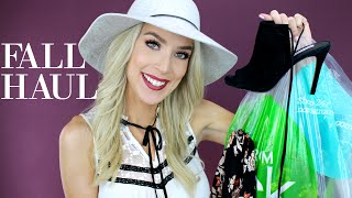 Fall Fashion Haul + Try-On - Ft. ALL THE SHOES!