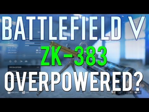 The ZK-383 might be a bit OP | Battlefield 5 Weapon Review thumbnail