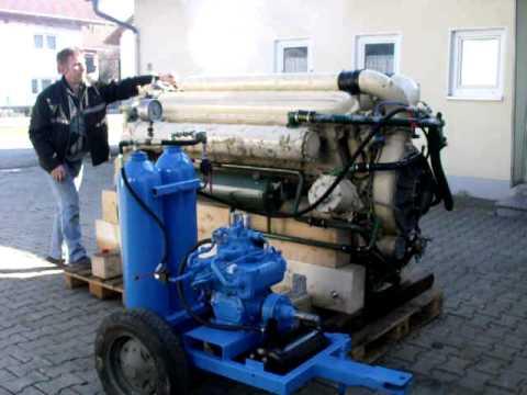 Zvezda M50 F6-L Dieselmotor Probelauf