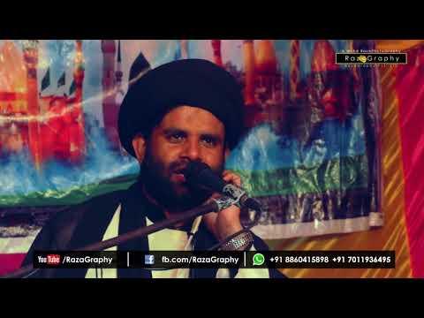 Maulana Baqar Zaidi full majlis 2017-17 | in Julus-e-Aza