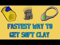Fastest Way To Obtain Soft Clay On A Low Level Ironman! (OSRS)