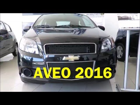 CHEVROLET AVEO 2016, EL AUTO MAS VENDIDO EN MEXICO.