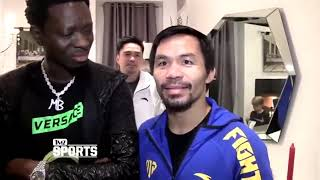 Manny Pacquiao Hilarious Interview