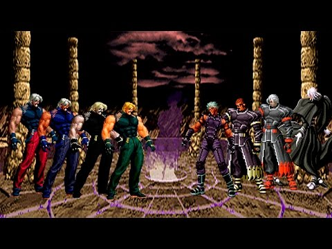 Kof Mugen Omega Rugal 98, Rugal 2002, Rugal 2002 UM & Omega Rugal Boss vs Nests Boss Team