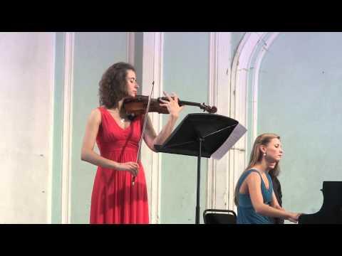 Grieg, Violin sonata c-moll, Maryana Osipova, Varvara Tarasova
