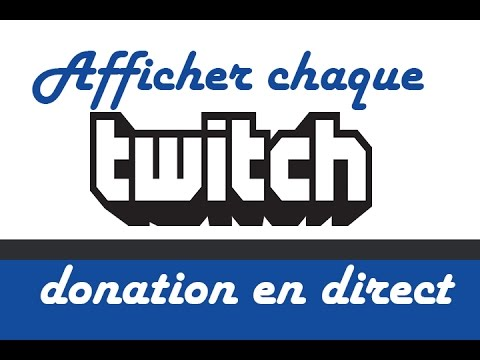 how to add donations to twitch