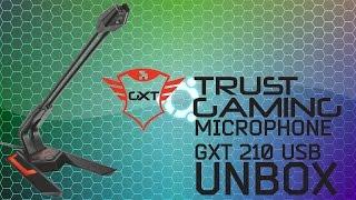 Розпакування-мікрофон Trust GXT 210 USB [UNBOXING]