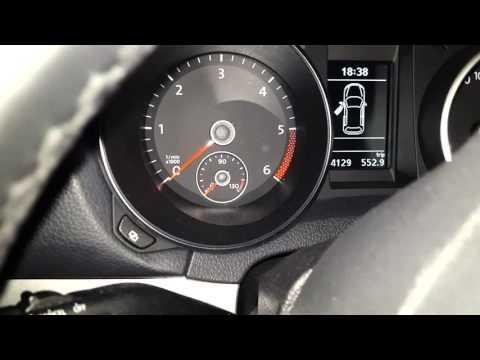 VW Golf VI. 1.6 TDI starting problem
