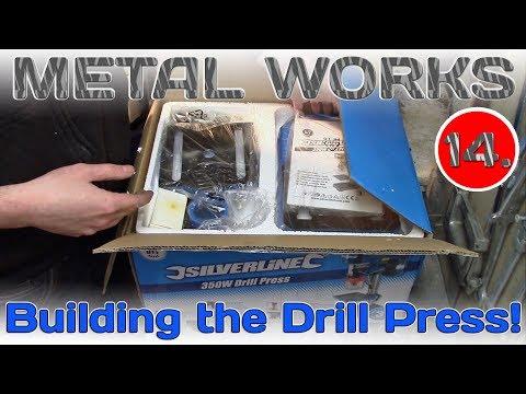 Building the Silverline Drill Press!