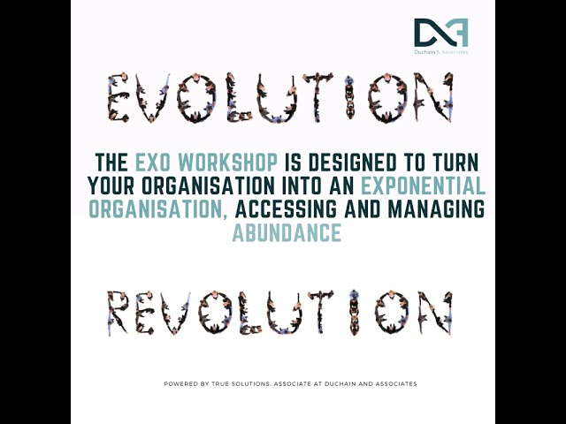 The Exponential Transformation Workshop (ExO Workshop) by Paco Briseno