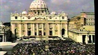 SAINT POPE JOHN PAUL II THE GREAT FUNERAL MASS PART 3 OF 16