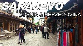 SARAJEVO-BOSNIA AND HERZEGOVINA IN 4K