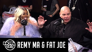 Fat Joe & Remy Ma Talks Grammys, Nicki Minaj + Jay Z