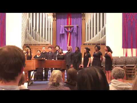 "Otterbein Gospel Choir ""we worship your holy name"""