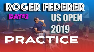 [HD] ROGER FEDERER Practice US OPEN 2019 | Day #2 | Full length