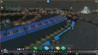 Cities: Skylines - After Dark #12 - Обустраиваем набережную
