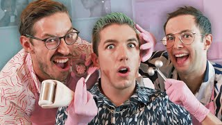 We Learn How T๐ Do Professional Facials (ft. Hyram)
