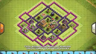 Clash Of Clans : Hdv 8 - Village Défensif Efficace Pour Monter En Trophés / Ramy COC !