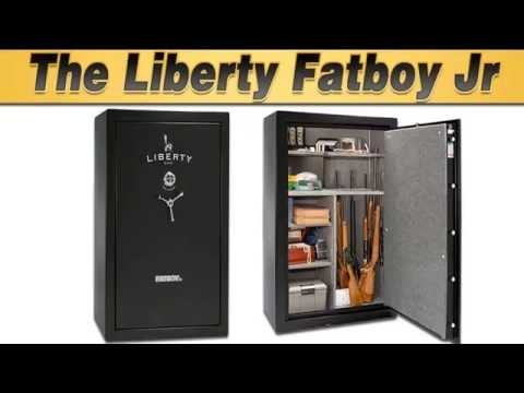 gun safe review review of the liberty fatboy jr gun safe youtube. Black Bedroom Furniture Sets. Home Design Ideas