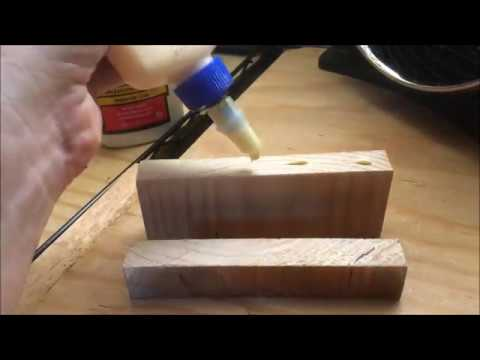 How to use Wood Glue