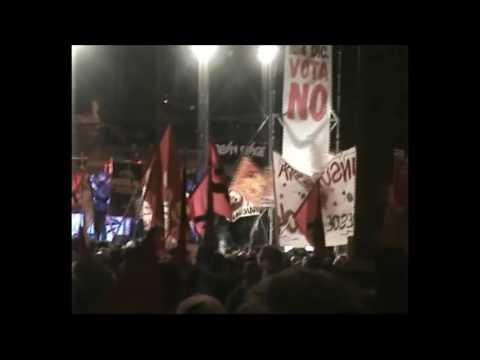 27/11/16 Roma - Manifestazione per il NO al Referendum IL GIORNALE DEL RICCIO