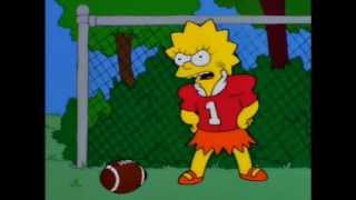 That's right! A girl who wants to play football!